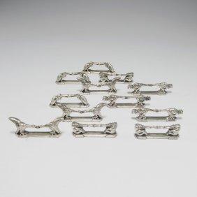 Twelve Knife Rests, C1925