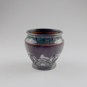 Vase With Silver Mounting, 1905-09