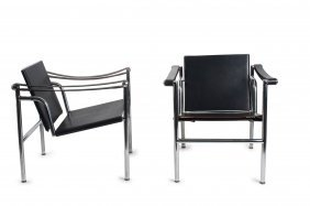 Two 'lc 1' Armchairs, 1928