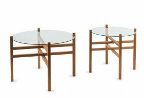 Two Prototype Folding Tables, 1959