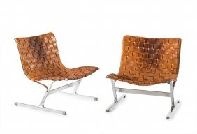 Two 'plr' Easy Chairs, 1968