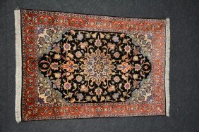 An Oriental Carpet (tabriz), Decorated With Floral