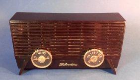 Vintage Bakelite Silvertone Radio