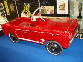 1960's AMF Mustang Junior Pedal Car