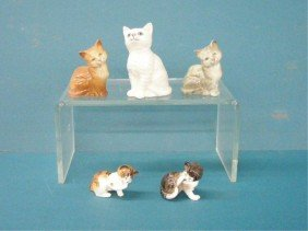 Royal Doulton Cat Figures