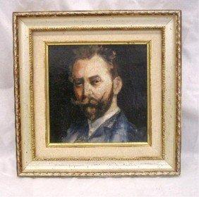 Frank J. Dillon Oil On Board