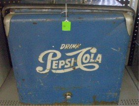1950's Pepsi Cola Picnic Cooler