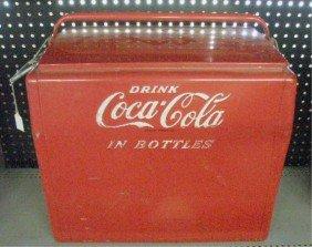 1950's Coca Cola Picnic Cooler