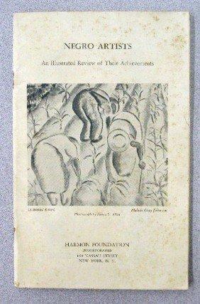 1935 Harmon Foundation Negro Artists Catalog