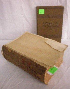 "Quain, Ed. ""A Dictionary Of Medicine"", 4th Ed."