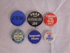 Anti-Nixon & Vietnam Cause Pins