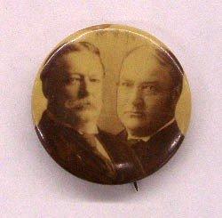 """1908 Taft/Sherman 7/8"""" Jugate Pin"""