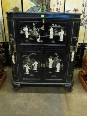 Chinese Bar/Cabinet