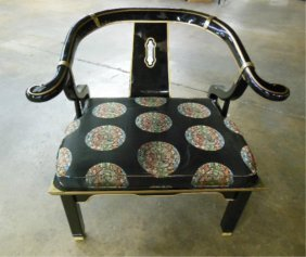 Chinese Style Yoke Back Chair