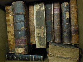 Assorted 18th /19th C. American/European Books