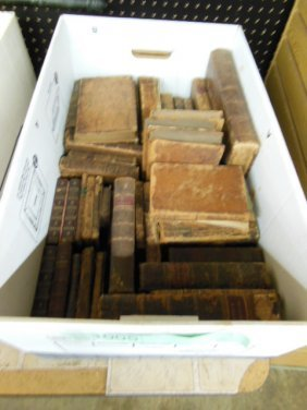 Assorted 18th/19th C. American/European Books