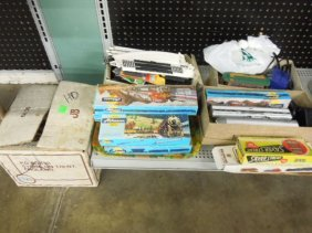 Lot Of Ho Track, Trains And Other