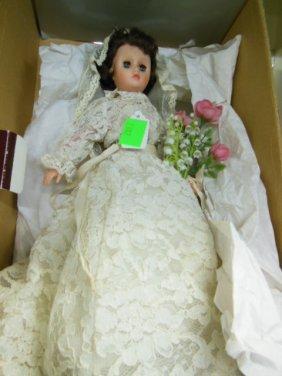 Vintage Vinyl Bride Doll