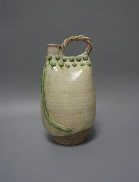 Chinese Porcelain Sancai Wine Kettle