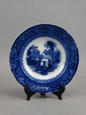 Flow Blue Bowl