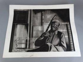 Stanley Clark - Pastel & Pencil
