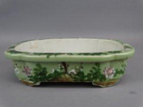 Glazed Bonsai Planter