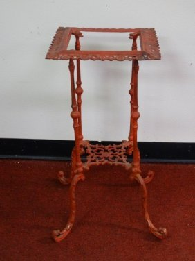 Heavy Cast Metal Plant Stand