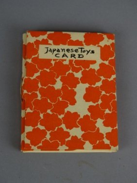 Booklet Of Japanese Toy Cards