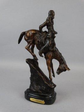 Small Remington Bronze - Mountain Man