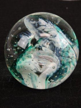 Selkirk Collectible Glass Paperweight
