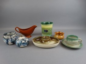 Lot Of 7 Various Pottery Items