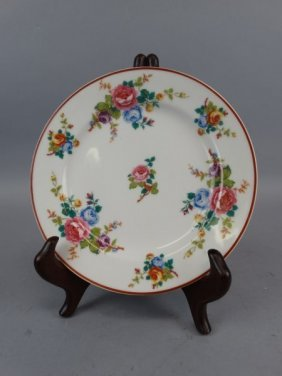 Haviland Painted Plate