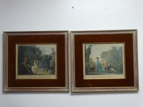 Lot Of 2 Color Lithographs