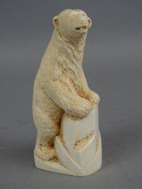Alabaster Carving Of Bear