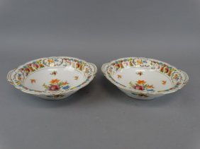 Lot Of 2 Noritake Vegetable Bowls