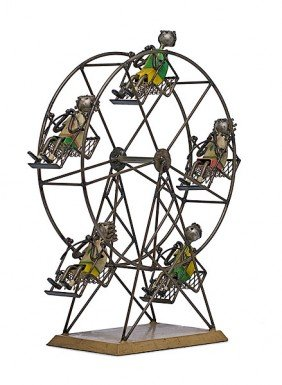 Ferris Wheel By Manuel Felguerez, Welded Steel And