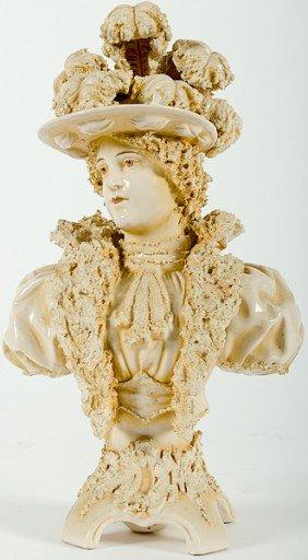 Porcelain Bust�of Lady