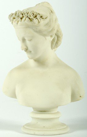 Parian Ware Figural Bust�