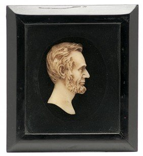 Abraham Lincoln Wax Profile Bust�