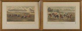 G.C. Hunt & Son Horse Racing Engravings�