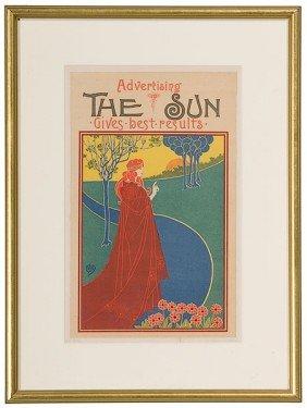Louis John Rhead (British, 1857-1926), The Sun�