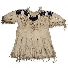 Plateau Child's Beaded Hide Dress�