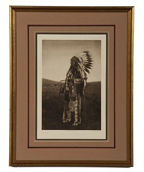 Edward S. Curtis Photogravure High Hawk�