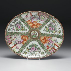 Rose Medallion Platter