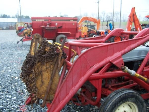 Ford 9n Loader : Ford n tractor loader backhoe lot