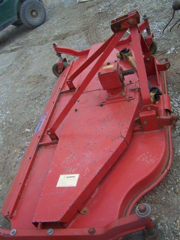 5 Caroni Mower : Caroni tc pt finish mower for tractors lot