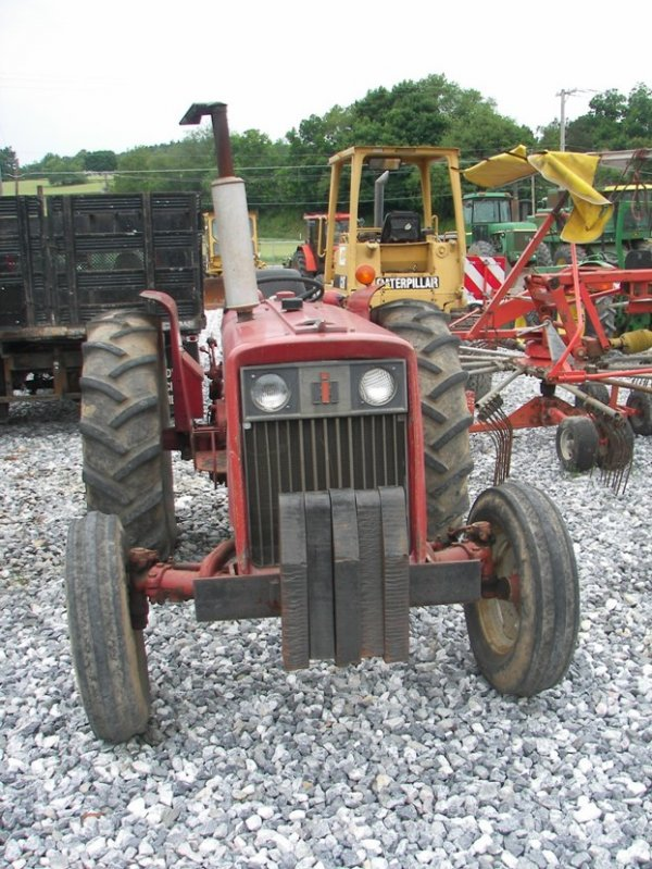 International 444 Tractor Seat : International diesel pictures to pin on pinterest