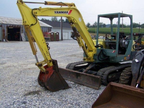 Yanmar 1500d Manual B50 Excavator For Sale