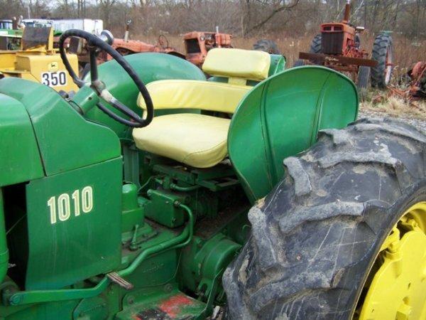 1010 John Deere Rims : John deere wide front farm tractor lot