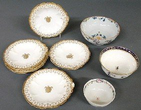 "Group Of Ceramic Tableware- English Delft Bowl 8""d"